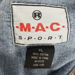 Mac Sport Jackets & Coats - Mac Sport XL Jean Jacket